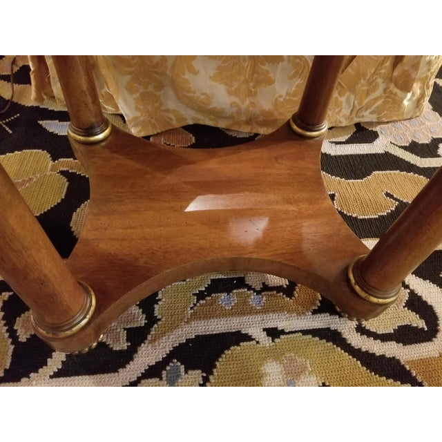 Mid 20th Century Mid 20th Century Henredon Empire End Tables From Waldorf Astoria - Set of 2 For Sale - Image 5 of 8