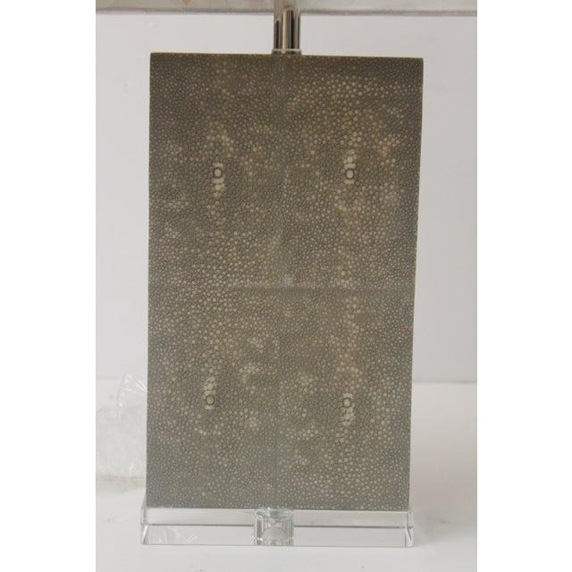 Shagreen Column Lamp - Image 3 of 6
