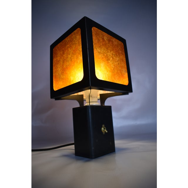 Cube Table Lamp For Sale In New York - Image 6 of 7