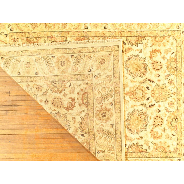 """Traditional Pasargad NY Sultanabad Design Hand-Knotted Rug - 7'11"""" x 9'10"""" For Sale - Image 3 of 4"""