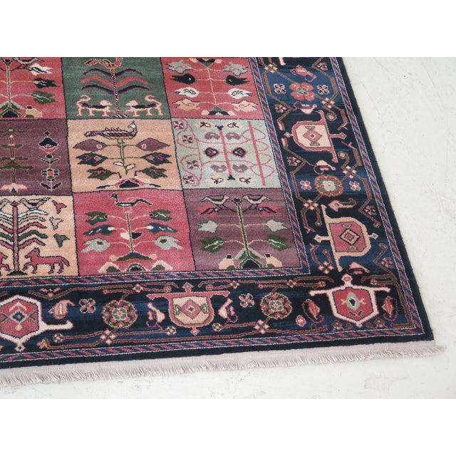 1990s 1990s Vintage Karastan Pictorial Rug- 8′7″ × 11′6″ For Sale - Image 5 of 10