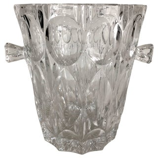 Crystal Ice Bucket With Handles For Sale