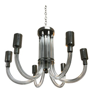 Charles Hollis Jones Lucite Chandelier