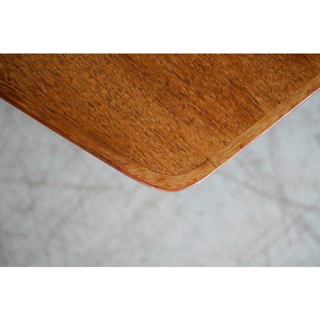 Large Midcentury Danish Sixteen Person Teak Dining or Conference Table For Sale - Image 4 of 7