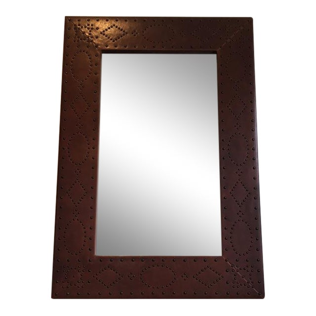 Ralph Lauren Home Safari Mirror - Image 1 of 7