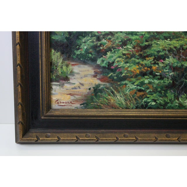 Mid 20th Century Caddell Martha's Vineyard Scene Painting For Sale - Image 5 of 8