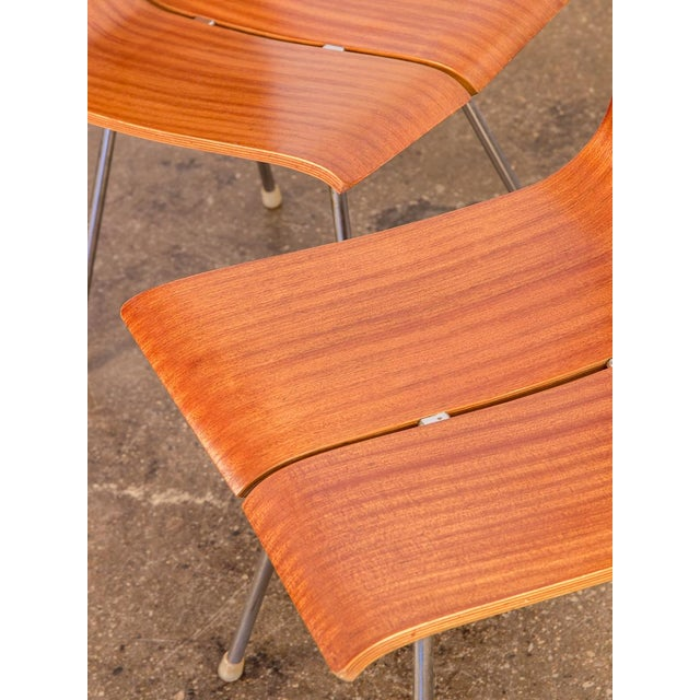 Brown Hans Bellmann GA Molded Dining Chairs - a Pair For Sale - Image 8 of 11