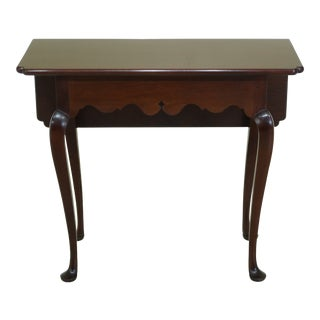 Stickley Colonial Williamsburg Drop Side Mahogany Table For Sale