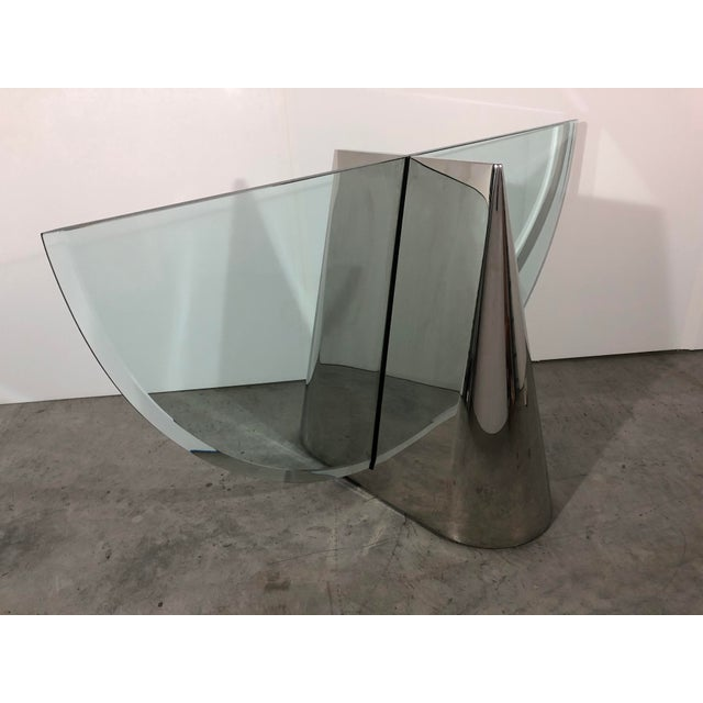 """J. Wade Beam """"Pinnacle"""" Dining Table Bases for Brueton For Sale - Image 11 of 11"""