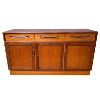 Mid-Century Modern English Sideboard Circa 1965 For Sale
