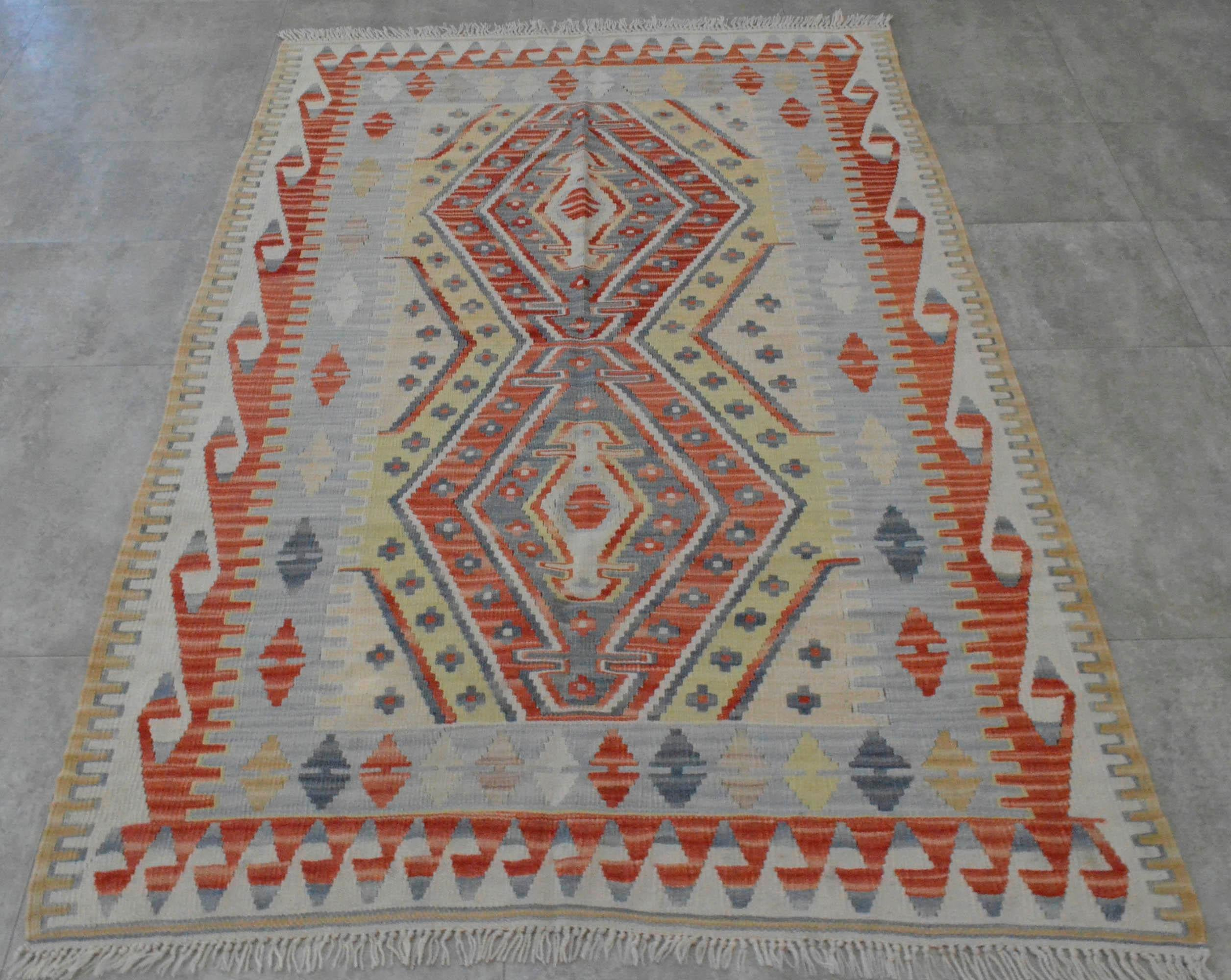 turkish kilim rug handmade oushak kilim quality area rug 3