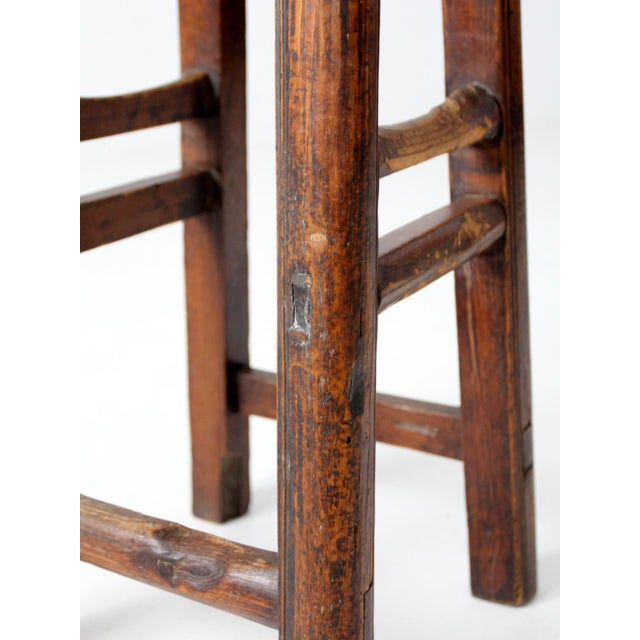 Antique Chinese Stool For Sale - Image 9 of 11