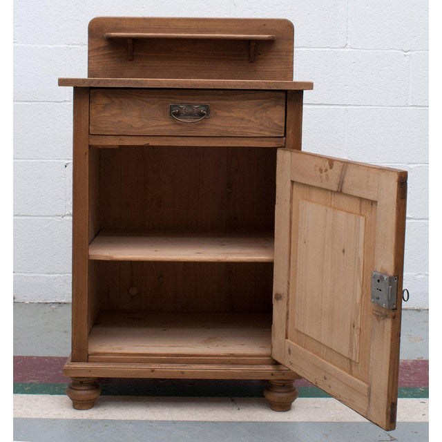 Late 19th Century Pine Cupboard / Washstand For Sale - Image 4 of 7