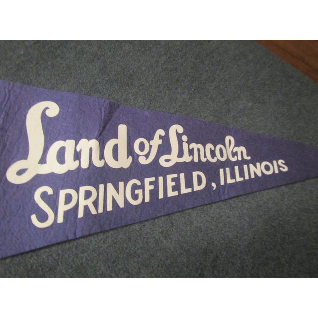 Land of Lincoln Tourism Pennant - Image 4 of 7