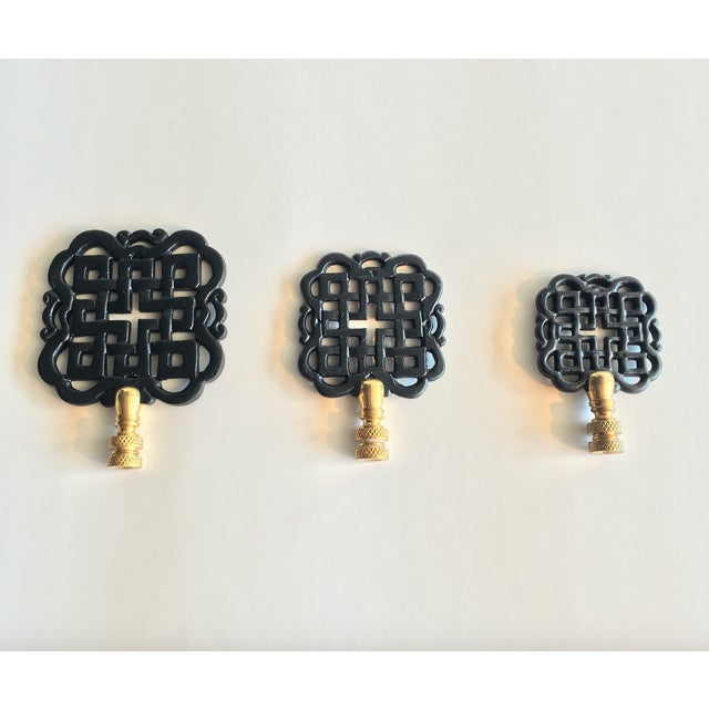 Hillary Thomas Black Lamp Finials - Set of 3 - Image 2 of 10