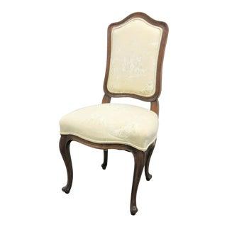 Louis XV Style Walnut Side Chair