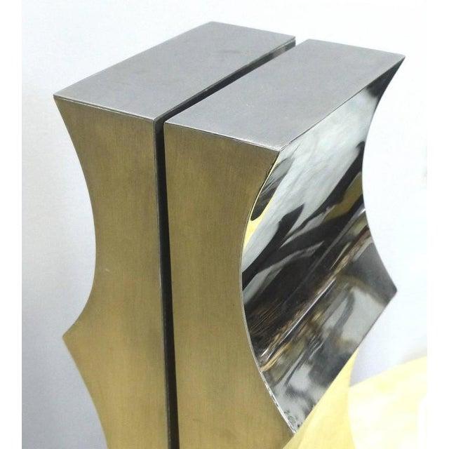 Modernist Aluminum Sculpture by Yutaka Toyota 'Japan/Brazil circa 1970' - Image 3 of 10