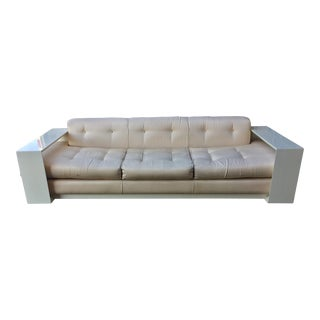 Vintage Stretch Designer Miami Modern Sofa For Sale
