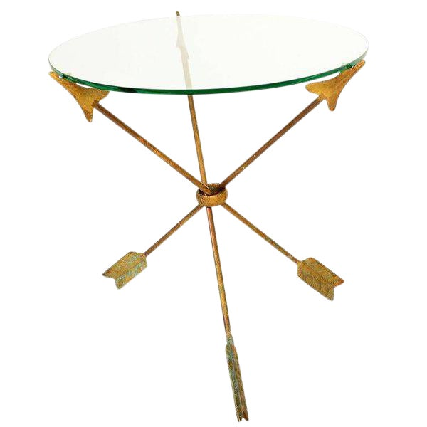 """Arrows"" Side Table Attributed to Arturo Pani For Sale"
