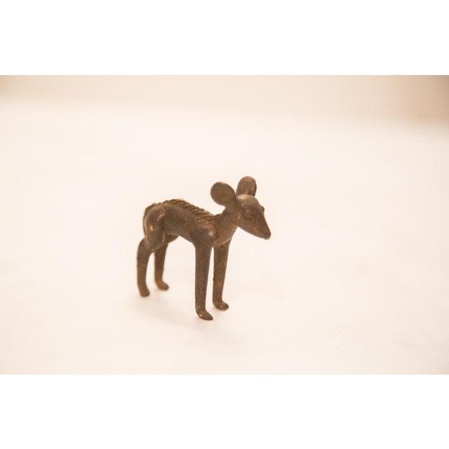 Vintage Female Impala (Ewe) Bronze Gold Weight For Sale - Image 4 of 4
