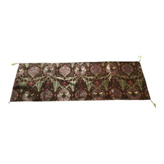 "Authentic Turkish Motif 54""x 18.5""Table Runner For Sale"