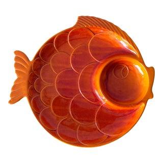 1970s Haeger Decorative Fish Platter For Sale