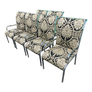 Mid-Century Chrome Chairs - Set of 6
