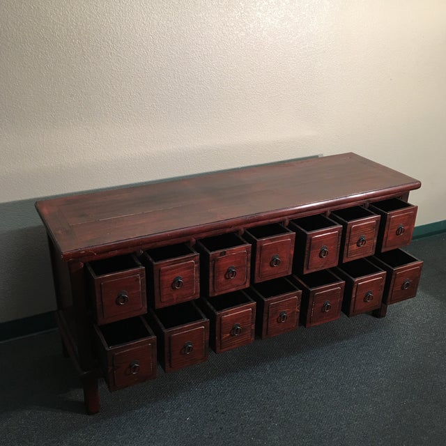 14-Drawer Indonesian Cabinet - Image 10 of 10