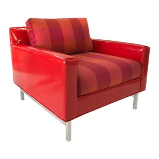 Large 1960s Patent Club Chair For Sale