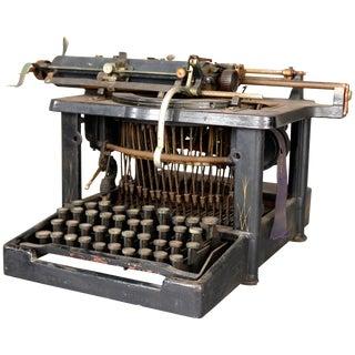 Antique Royal Standard No.1 School Understrike Portable Desk Typewriter For Sale