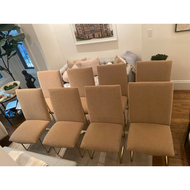 Lawson-Fenning Thin Frame Dining Chairs - Set of 8 For Sale - Image 10 of 10