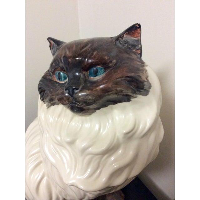 Antique Porcelain Cat - Image 8 of 9