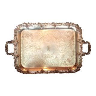 Sheffleld Silver on Copper Tray