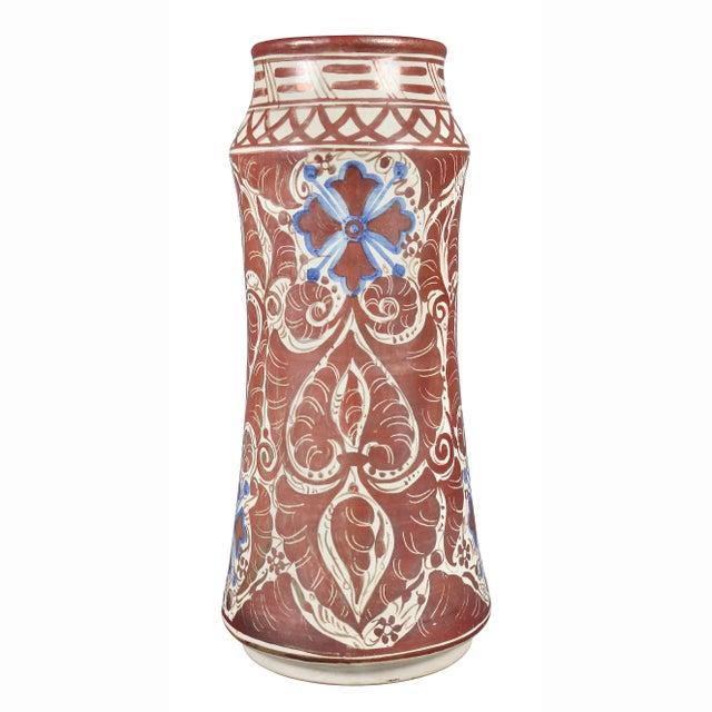 Hispano- Moresque Ware Pottery Vase For Sale In Boston - Image 6 of 10