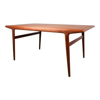1950s Vintage Niels Moller for Jl Moller Model 10 Extending Dining Table For Sale