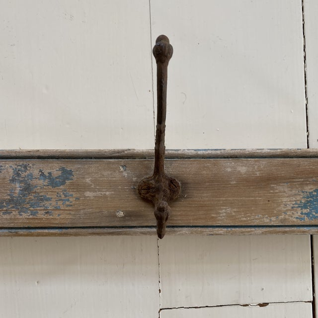 French Antique Rustic French Wall Hooks For Sale - Image 3 of 9