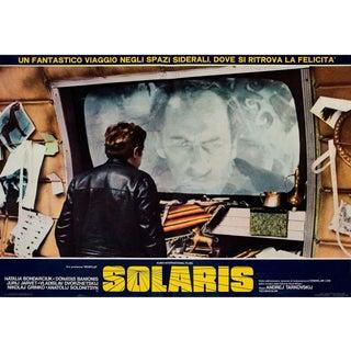 Solaris 1974 Italian Fotobusta Film Poster For Sale