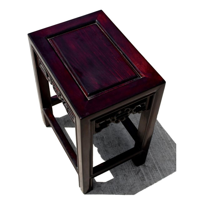 Chinese Rosewood Nesting Tables - Set of 4 For Sale - Image 12 of 13