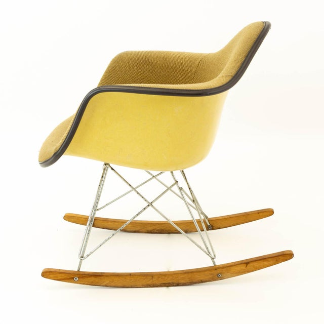 Eames Eames Mid Century Modern Rocking Chair For Sale Image