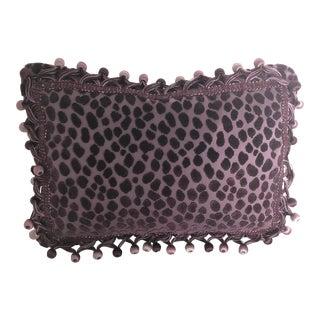 "Designers Guild Purple 2 Tone Goose Down Insert Pillow 15"" X 12 "" For Sale"