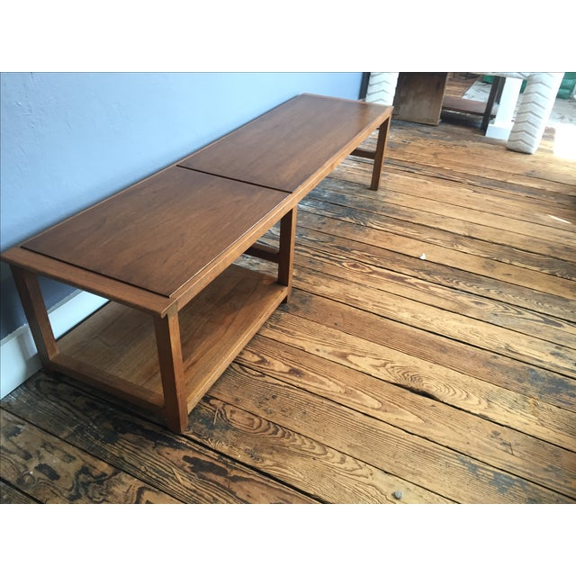 Vintage Dunbar Coffee Table or Bench - Image 4 of 7