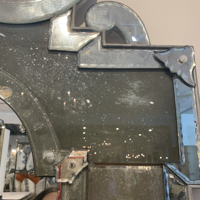 Antique Venetian Wall Mirror For Sale - Image 12 of 13