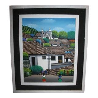 Honduras Painting by Antonio Velasquez For Sale