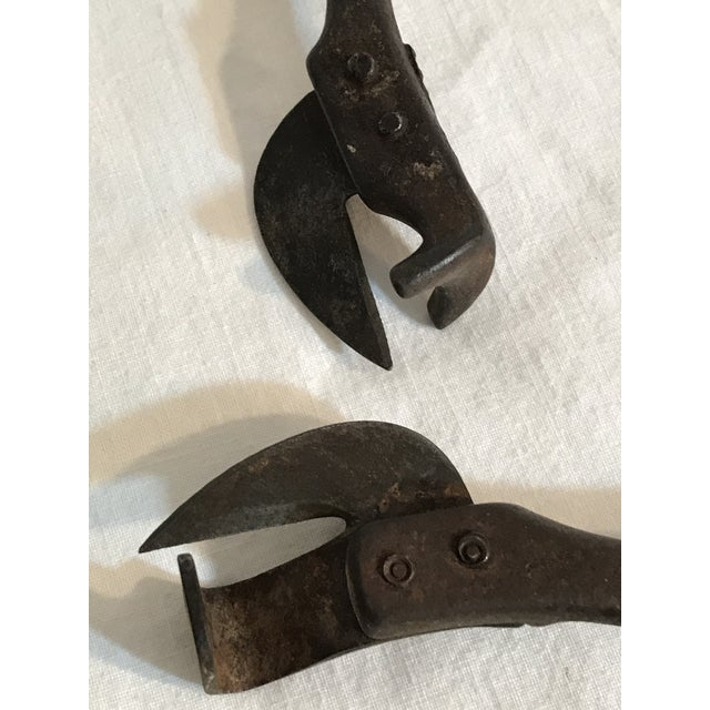 1890's Steel Can Openers - A Pair For Sale In Savannah - Image 6 of 7