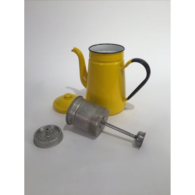Vintage Yellow Tea Pot - Image 7 of 7