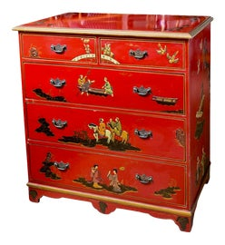 Image of Hollywood Regency Dressers and Chests of Drawers
