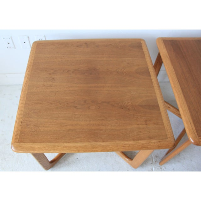 Vintage Mid Century Lane End Tables - Pair - Image 5 of 7