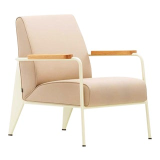 Fauteuil De Salon Lounge Chair by Prouvè For Sale