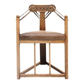 Rare Amsterdam School Armchair For Sale