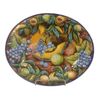 1970s Majolica Guanajuato Platter For Sale